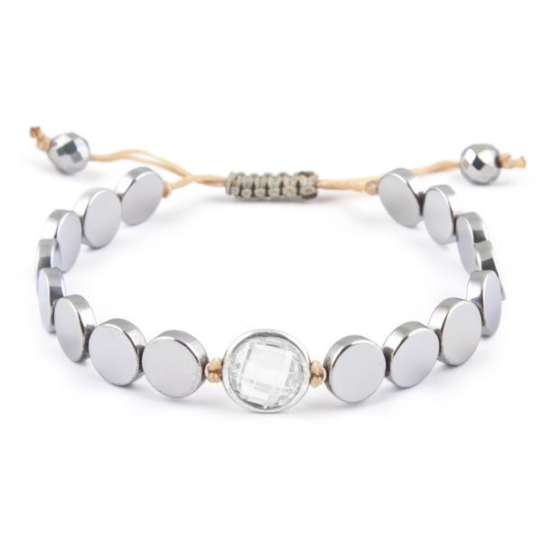 دستبند نقره زنانه ریسه گالری کد Ri3-H1102-W