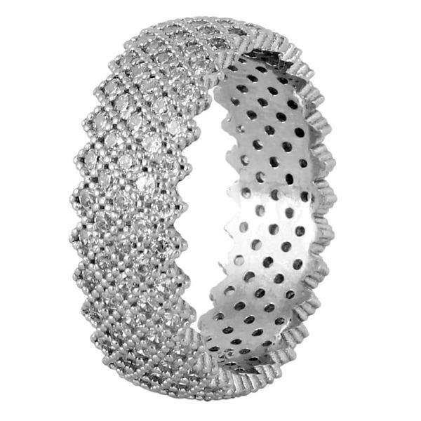 انگشتر نقره زنانه مد و کلاس کد 180323-6.5