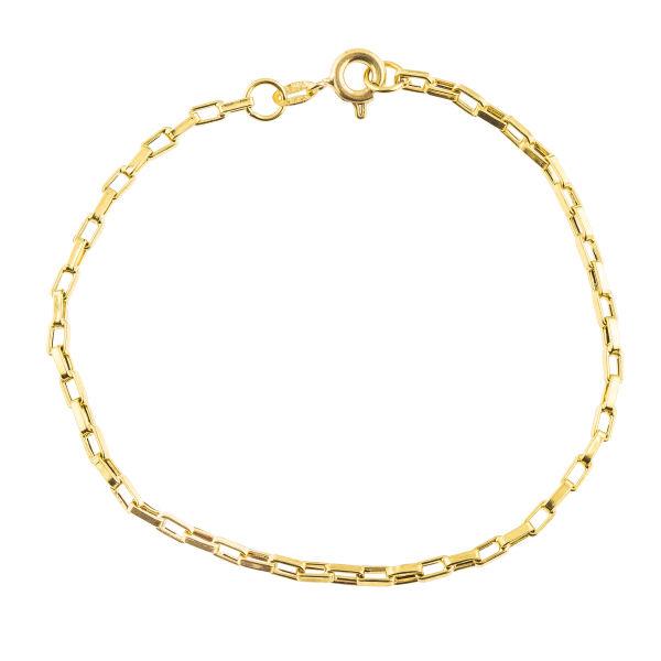 دستبند طلا 18 عیار زنانه کد B144