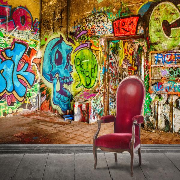 پوستر دیواری سه بعدی طرح دیوار کد ARTS501