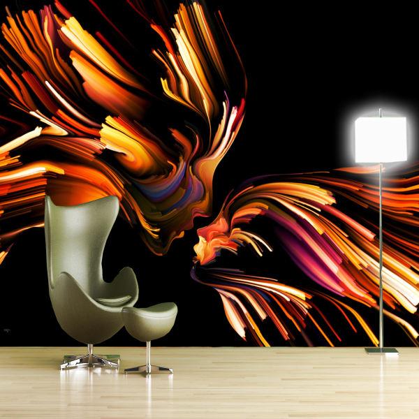 پوستر دیواری سه بعدی طرح بلک لایت کد ARTS790