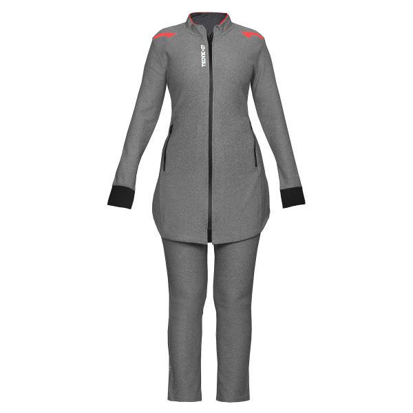 ست گرمکن و شلوار ورزشی زنانه تکنیک پلاس 07 کد GK-122-ZO