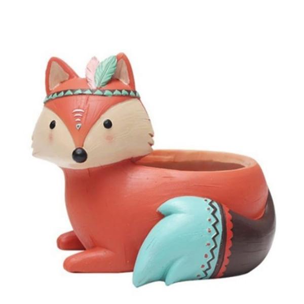 گلدان طرح روباه مدل شازده کوچولو کد ck208