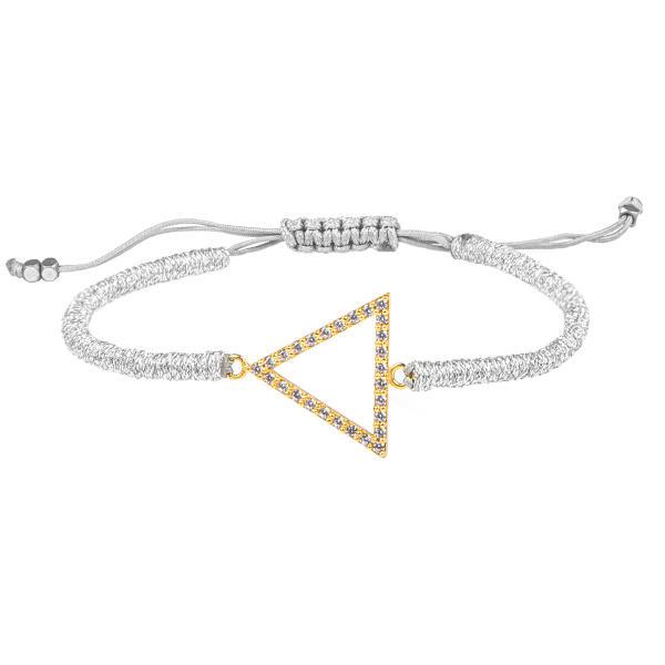 دستبند طلا 18 عیار زنانه ریسه گالری کد Ri3-B1189