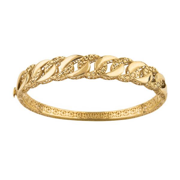 دستبند طلا 18 عیار زنانه کد B138