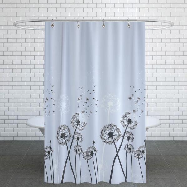 پرده حمام دلفین کد jack-2200 سایز 200×180 سانتی متر