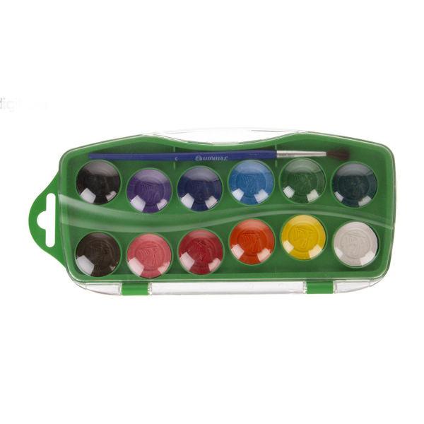 آبرنگ 12 رنگ پلیکان مدل KJ_12 کد 001