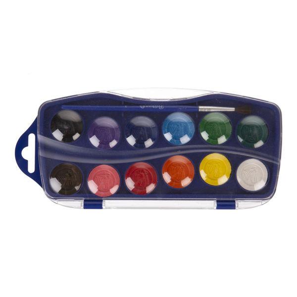 آبرنگ 12 رنگ پلیکان مدل KJ_12 کد 002