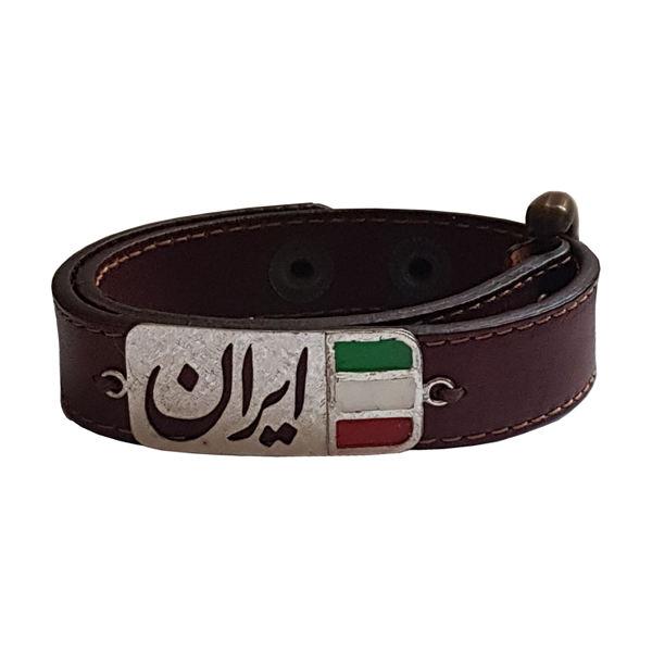 دستبند نقره مردانه مدل CAA014