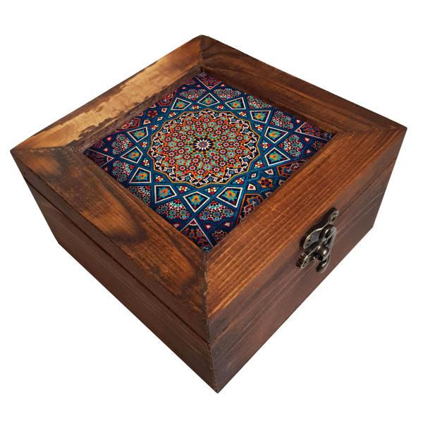 جعبه هدیه چوبی کد A22