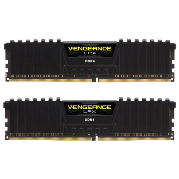 رم دسکتاپ DDR4 دو کاناله 3200 مگاهرتز CL16 کورسیر مدل Vengeance LPX ظرفیت 16 گیگابایت