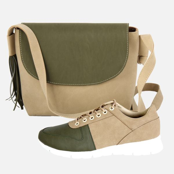 ست کیف و کفش زنانه کد 136