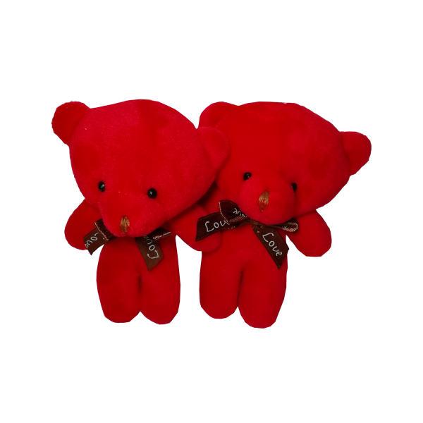 عروسک طرح خرس مجموعه 2 عددی
