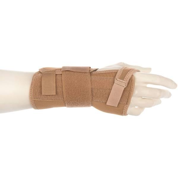 مچ بند طبی دست راست پاک سمن مدل Neoprene CTS With Hard bar سایز متوسط
