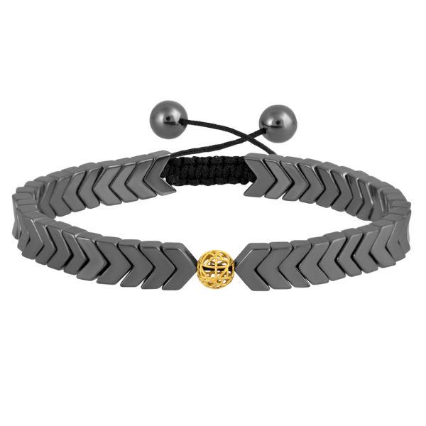 دستبند طلا 18 عیار زنانه اقلیمه کد DT465