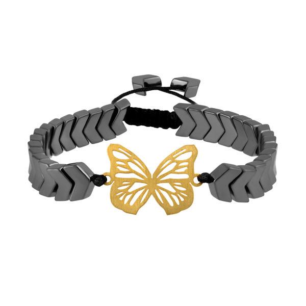 دستبند طلا 18 عیار زنانه اقلیمه کد DT468