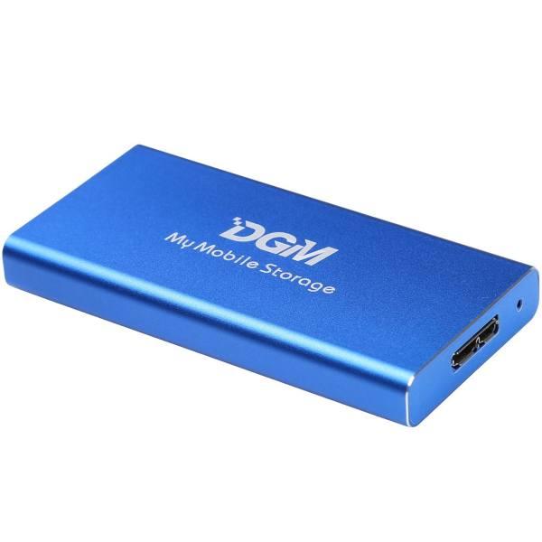 حافظه SSD اکسترنال دی جی ام مدل MMS ظرفیت 256 گیگابایت