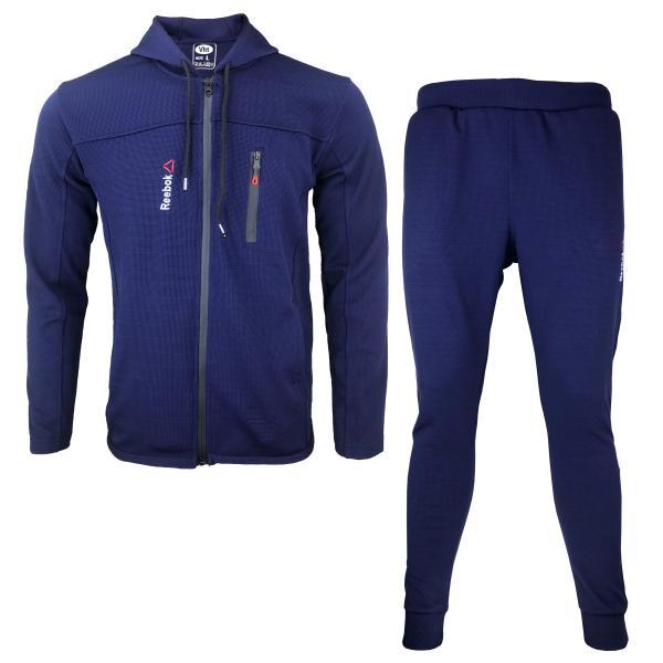 ست گرمکن و شلوار ورزشی مردانه مدل R-BU01
