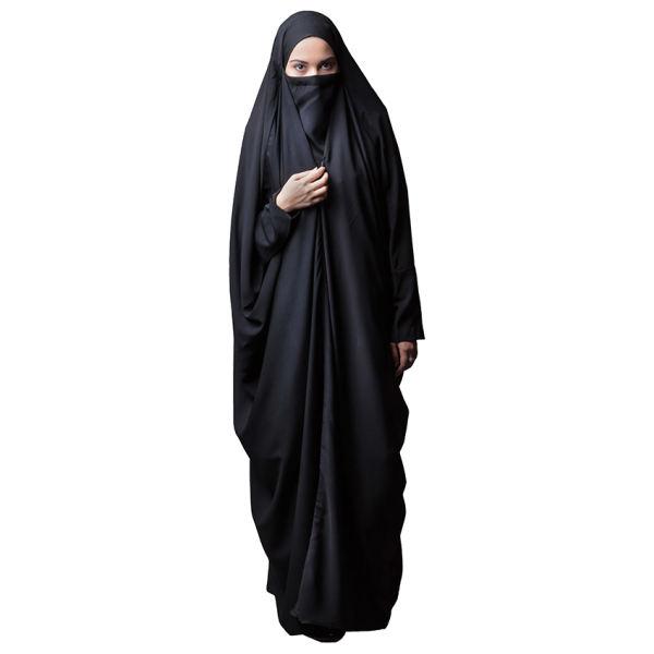 چادر لبنانی حجاب فاطمی مدل صدف کد Har 1051