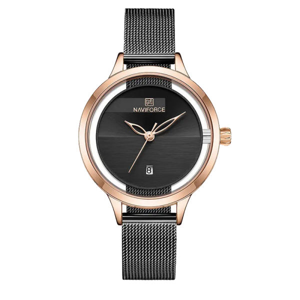 ساعت مچی عقربه ای زنانه نیوی فورس مدل NF501L -RG-B