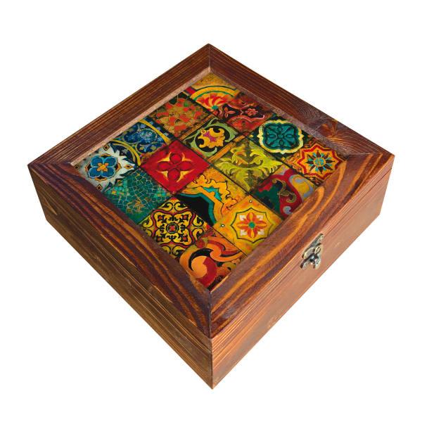 جعبه هدیه چوبی کد SD-15