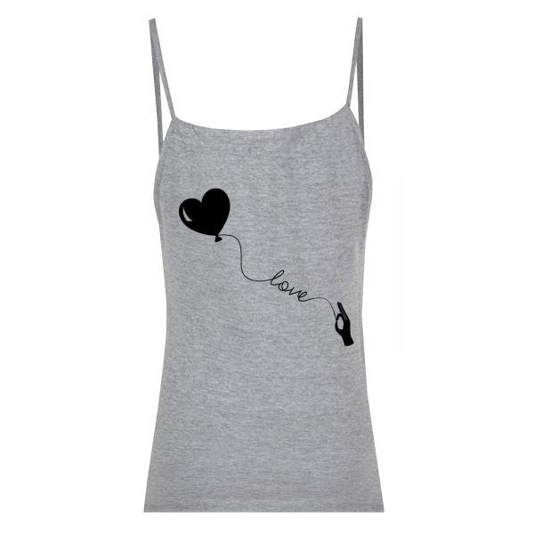 تاپ زنانه طرح دست و قلب کد F05