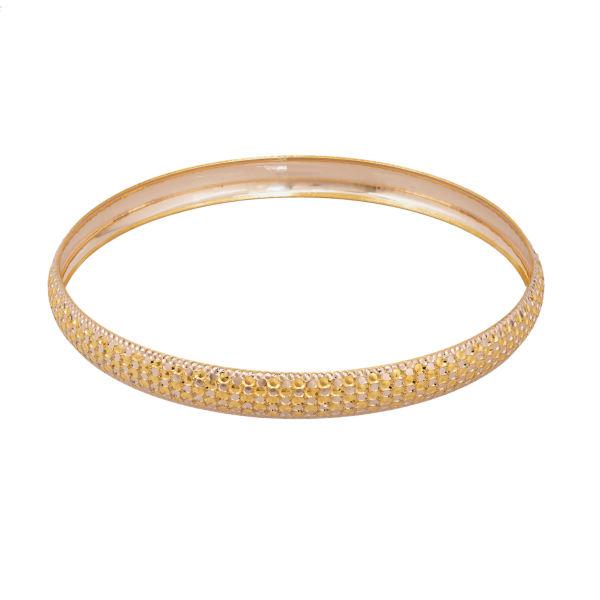 النگو طلا 18 عیار زنانه کد AL17G-2