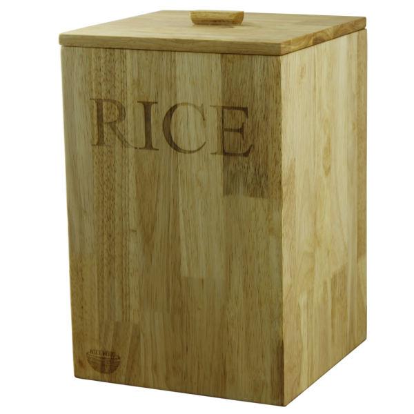 سطل برنج نایس وود مدل 105 گنجایش 10 کیلوگرم