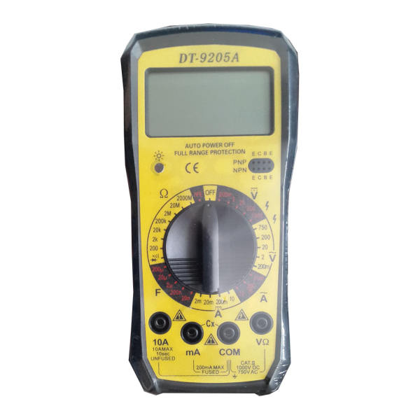 مولتی متر مدل DT-9205A