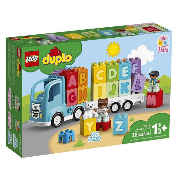 لگو سری Duplo مدل 10915 Alphabet Truck