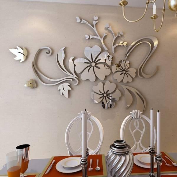 آینه آتریکس مدل گل برگ MD04
