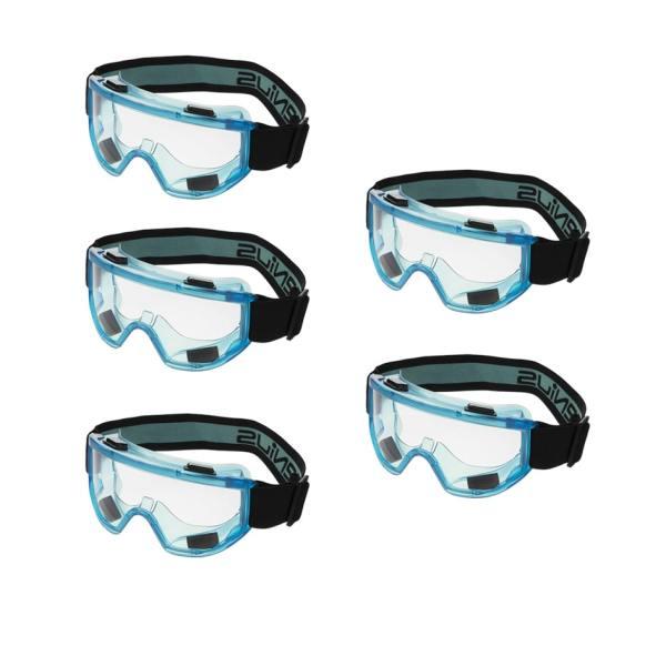 عینک ایمنی جنیوس مدل Q-130 بسته پنج عددی
