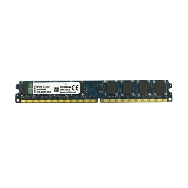 رم دسکتاپ DDR2 تک کاناله 800 مگاهرتز CL6 کینگستون مدل slim ظرفیت 2 گیگابایت