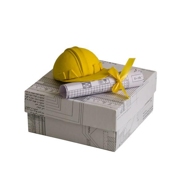 جعبه هدیه جعبه های رنگی رنگی توپک طرح مهندسی کد-001