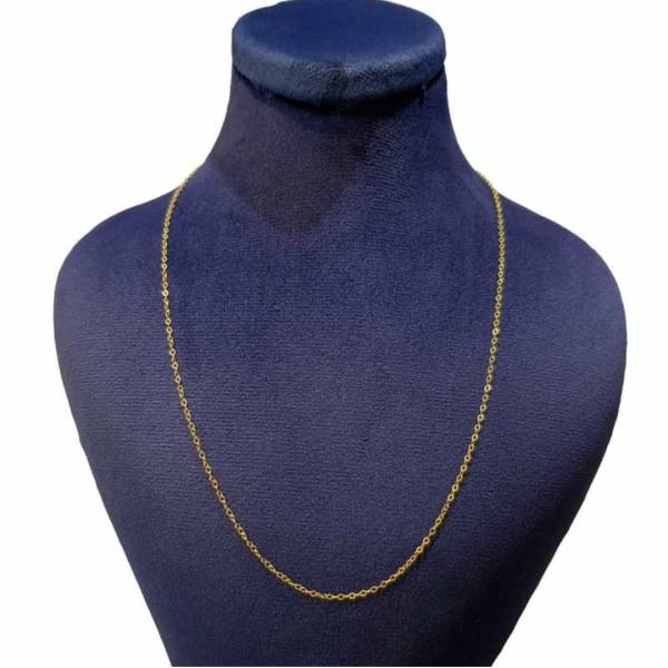 زنجیر طلا ۱۸ عیار زنانه الین گلد گالری مدل 7000zn