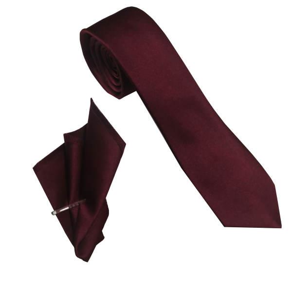 ست کراوات و دستمال جیب مردانه مدل mp 1