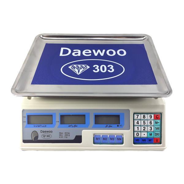 ترازو فروشگاهی دیوو مدل 303