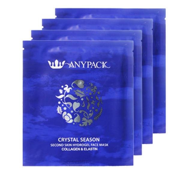 ماسک صورت آنیپک مدل Crystal Season حجم 27 میلی لیتر بسته 4 عددی