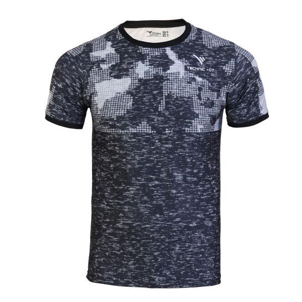 تی شرت ورزشی مردانه تکنیک پلاس 07 کد TS-144-ME