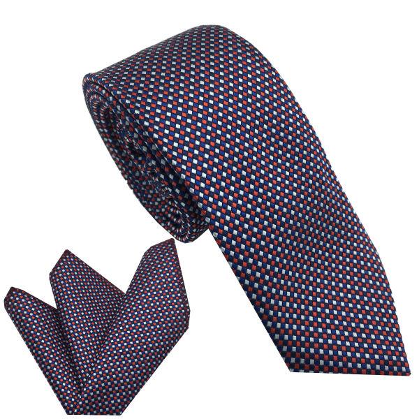 ست کراوات و دستمال جیب مردانه هکس ایران مدل KT-MD25