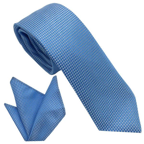 ست کراوات و دستمال جیب مردانه هکس ایران مدل KT-MD16