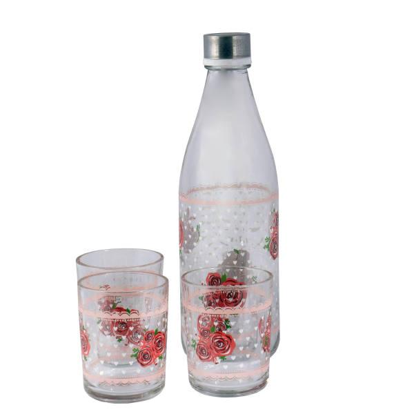سرویس بطری و لیوان 4 پارچه کاوه کد 13343