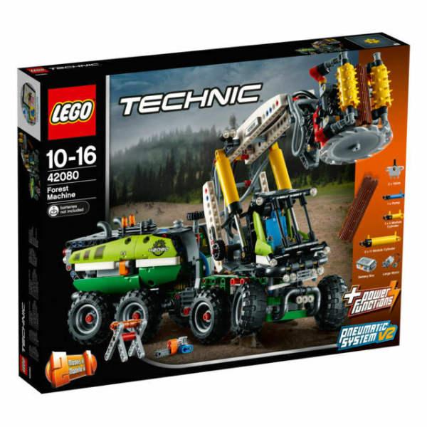 لگو سری technic مدل Forest Machine 42080