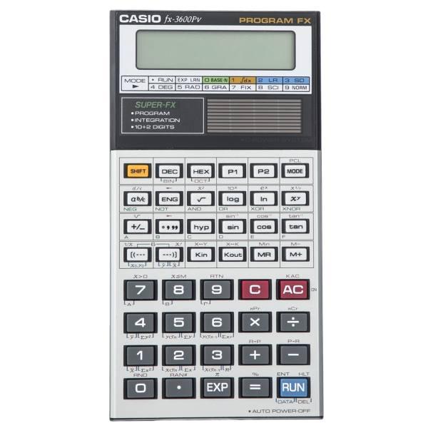 ماشین حساب کاسیو مدل fx-3600Pv