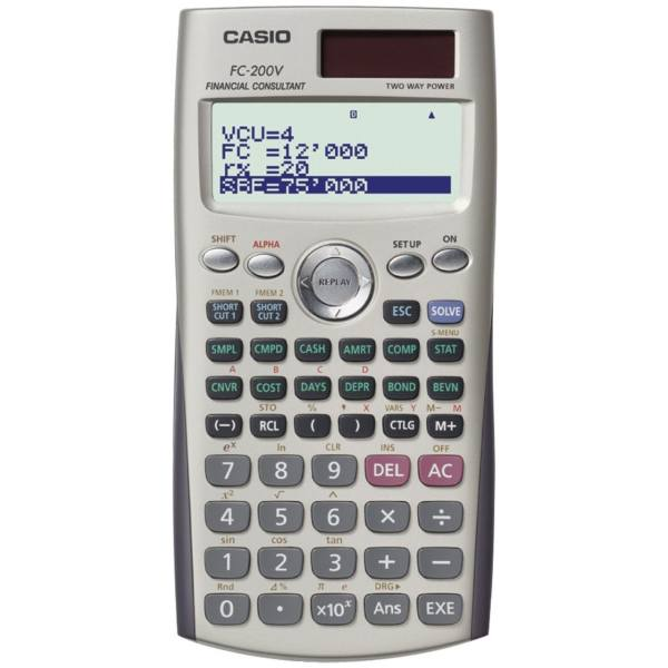 ماشین حساب کاسیو FC-200V