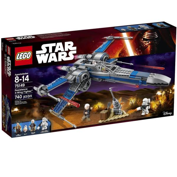 لگو سری Star Wars مدل Resistance X Wing Fighter 75149