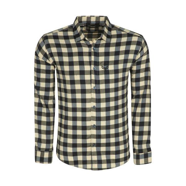 پیراهن آستین بلند مردانه پیکی پوش مدل M02488