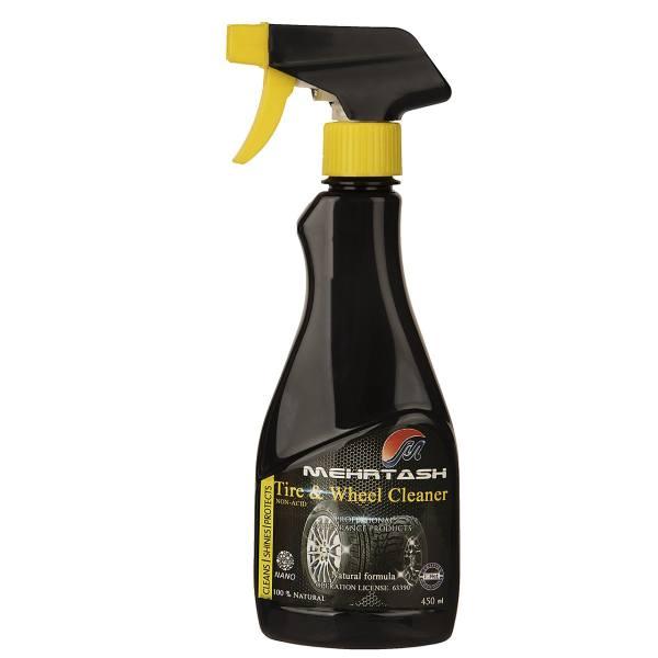 اسپری تمیز کننده رینگ و لاستیک خودرو مهرتاش ظرفیت 450 میلیلیتر