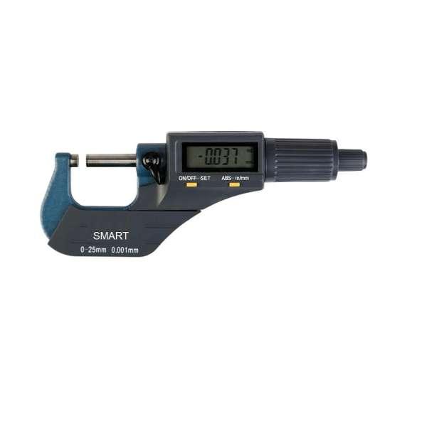 میکرومتر اسمارت مدل WF گستره 0 الی 25 میلیمتری