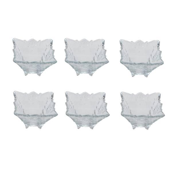 آجیل خوری بلور کاوه مدل Tandis بسته 6 عددی